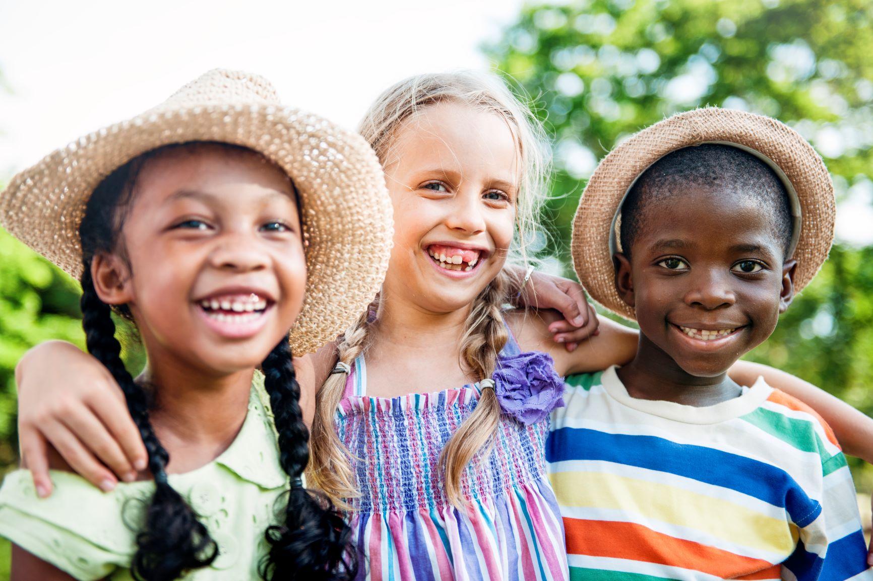 child-friends-boys-girls-playful-nature-offspring-concept